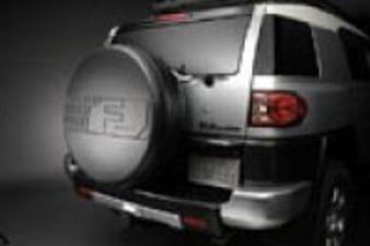 Spare Tire Cover for Vehicles already equipped with a Back-Up Camera