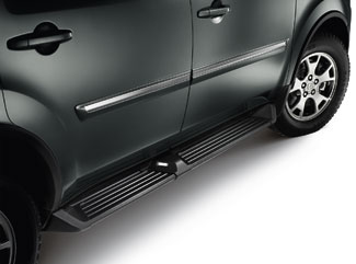 Running Board, Black./W-Light