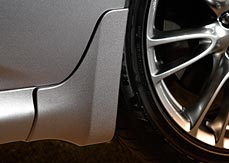 Splash Guards - Rear Ivory Pearl