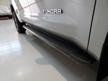 genuine oem assist steps classic running boards part pt925 34183 fits 2018 2020 toyota tundra up to 35 off on every order and guaranteed fit when you enter your vin oem genuine parts assist steps classic running boards