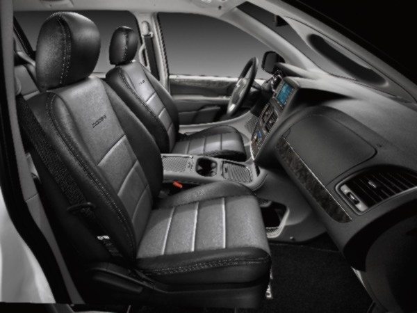 Cover, Seat, Leather, 2-Row Deluxe Edition - Mopar (LTHROCS2DI)