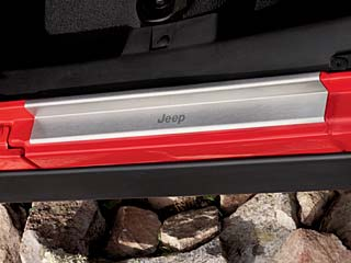 Door Sill Guard - Black