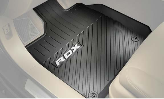 Floor Mats, All Season, Black - Acura (08P13-TX4-211A)