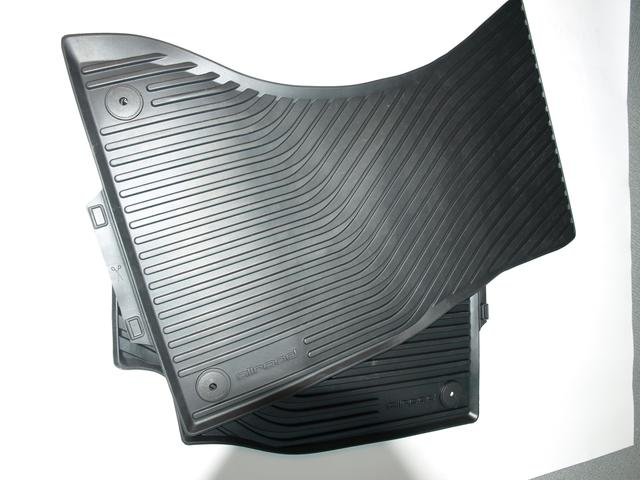All-Weather Floor Mats (Front) - Black - Audi (8K1-061-221-B-041)