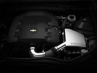 V6 Engine Cover Carbon Flash