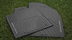 4PC All Weather Mats Black Highlander (Hybrid model only)