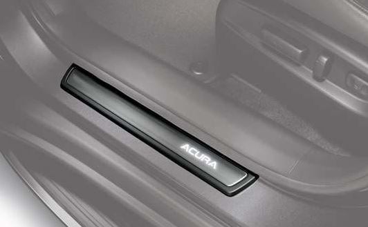 Door Sill Plates, Illuminated, Front