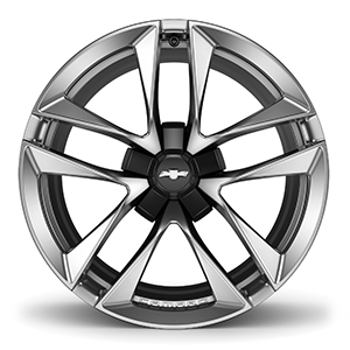 "20"" Wheel, Rear, Black Star Center (SS Models)"