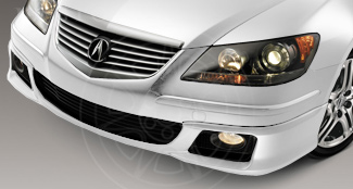 Front Under-Body Spoiler - Premium White Pearl