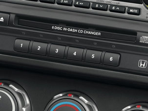 CD Changer, In-Dash (6-Disc)