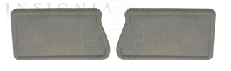 Floor Mats, Carpet, Rear - GM (19206156)