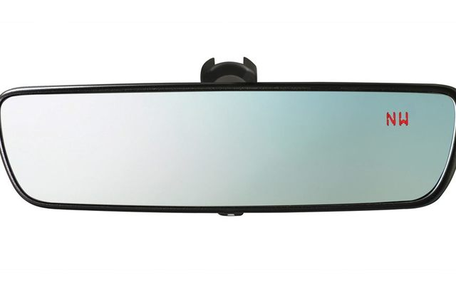 Mirror, Rear-View, Auto Dimming W/Compass
