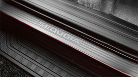 Set of Door Sill Protectors with Sequoia Logo
