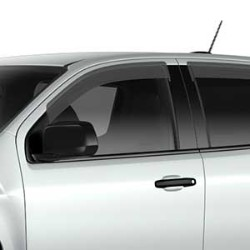 SIDE WINDOW WEATHER DEFLECTOR, EXTENDED CAB CONTAINS TWO FRONT SIDE WINDOW DEFLECTORS IN THE PACKAGE