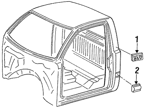 Ram 2500 Engine Diagram additionally Tail Light L furthermore Chrysler 300 Side Panel together with 2014 Ram Engine Cover besides Wiring Harness Production. on mopar performance dodge truck magnum parts exterior