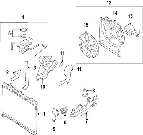 cooling system for 2012 hyundai genesis. Black Bedroom Furniture Sets. Home Design Ideas