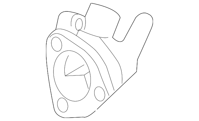 Thermostat Hsng Genuine Acura 19320 Pna 003
