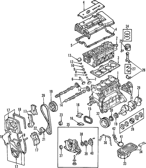Hyundai Engine Diagrams