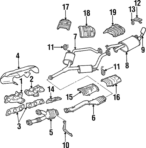 Lexus Gs300 Engine Diagram