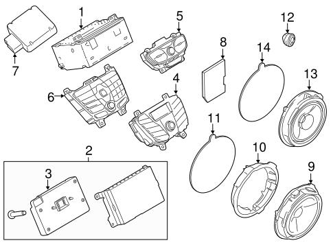 460 7 5 1994 Ford Engine Diagram