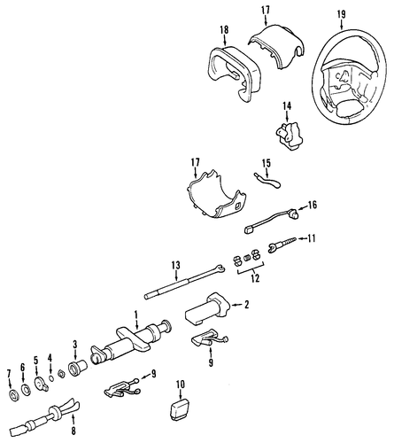 2004 Chevy Express Besides 2000 Chevy Cavalier Steering Column Diagram
