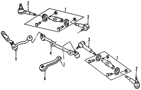 Chevrolet Tie Rod Diagram on 1963 chevy nova wiring diagram