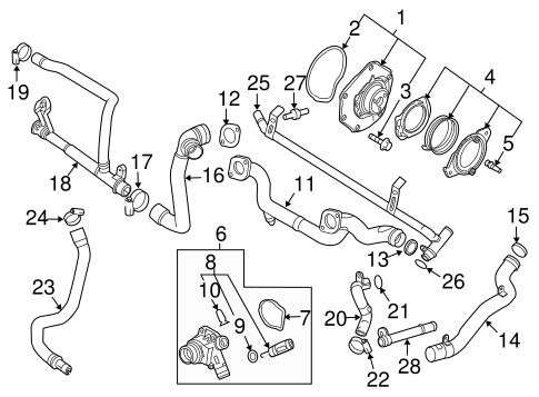 2004 Volvo C70 Belt Diagram