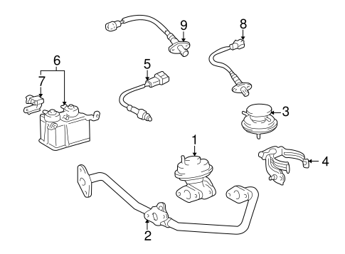 1999 Toyota 4runner Parts Diagram