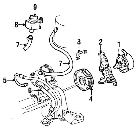 2001 oldsmobile alero v6 engine diagram
