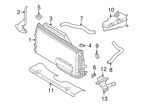 98 04 chrysler dodge with 2 7l 3 5l radiator coolant. Black Bedroom Furniture Sets. Home Design Ideas