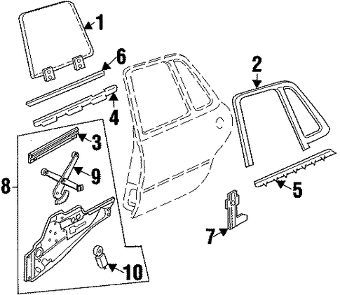 Buick Door Ajar Sensor also 1998 Chevy Cavalier Wiring Diagram further P 0900c1528006aca8 furthermore My 2 3 Fan Relay Diagram 519755 further Yugo Car Interior. on wiring diagram for 1993 ford probe
