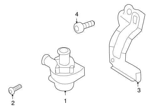 water pump for 2009 volkswagen tiguan. Black Bedroom Furniture Sets. Home Design Ideas