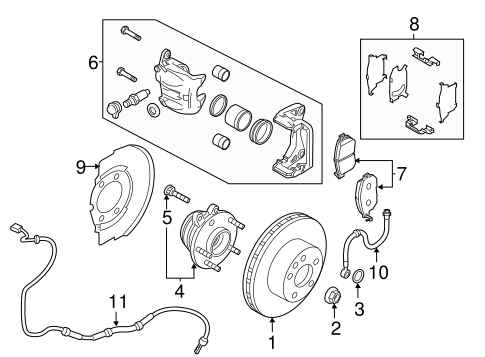 Hyundai Steering Pump Location