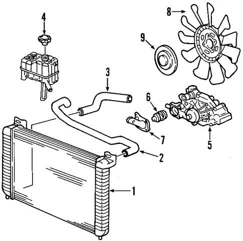 98 Cadillac Catera Fuse Box Diagram