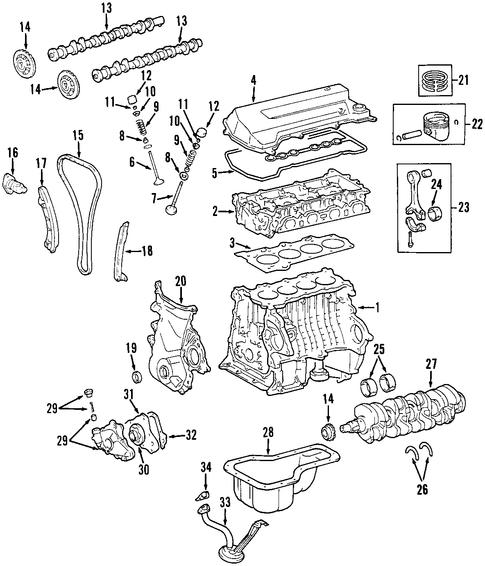 Toyota Rav4 Sport Engine Diagram Cylinder Toyota Get