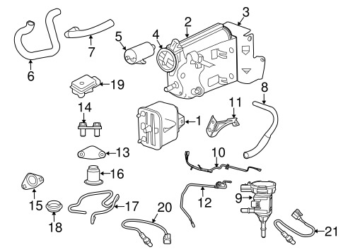 1999 Ford Taurus Alternator Wiring Diagram