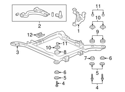 2006 Buick Rendezvous Fuse Diagram