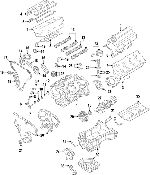 Service Manual 2006 Nissan Armada Timing Chain Install