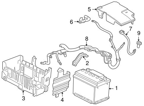 oem battery for 2011 chevrolet cruze. Black Bedroom Furniture Sets. Home Design Ideas