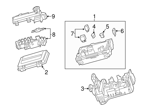 pontiac g6 parts diagram dash