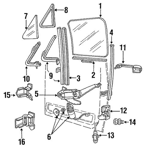 1996 Ford Aerostar Fuse Box Diagram