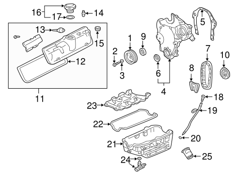 Location Of 2000 Olds Alero Fuel Pump on chevy 3400 engine diagram