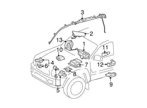 mini cooper hood latch diagram
