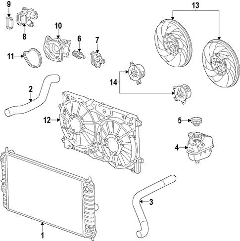 water pump parts for 2013 chevrolet malibu. Black Bedroom Furniture Sets. Home Design Ideas