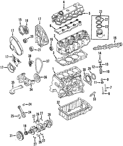 rear engine diagram 2000 vw beetle engine for 2000 volkswagen beetle #10