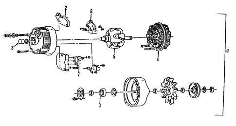 93 chevy 1500 alternator wiring diagram alternator for 1997 chevrolet c1500 | gmpartsoutlet.net 1995 chevy 1500 alternator wiring