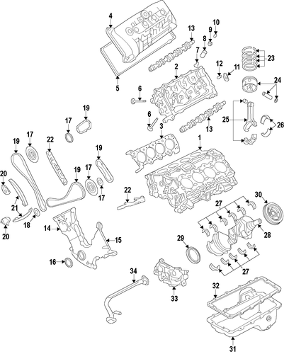 ford 5 8 engine diagram: engine for 2012 ford mustang