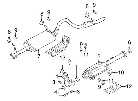 Chevrolet Exhaust Diagram