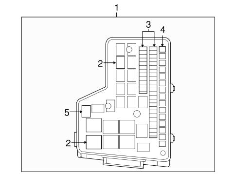 mopar fuse & relay box - 2010 dodge ram 2500 - rl692194ag 2010 dodge ram 2500 fuse box location 2010 dodge ram 1500 fuse box location
