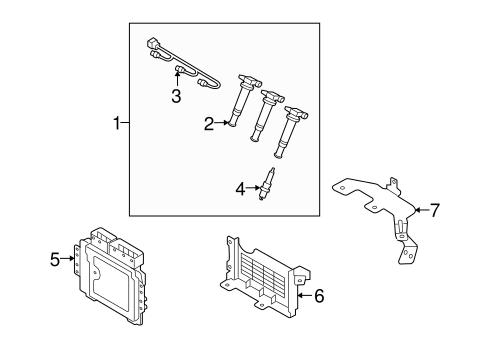 santa fe electrical ignition system parts santa fe 2007. Black Bedroom Furniture Sets. Home Design Ideas